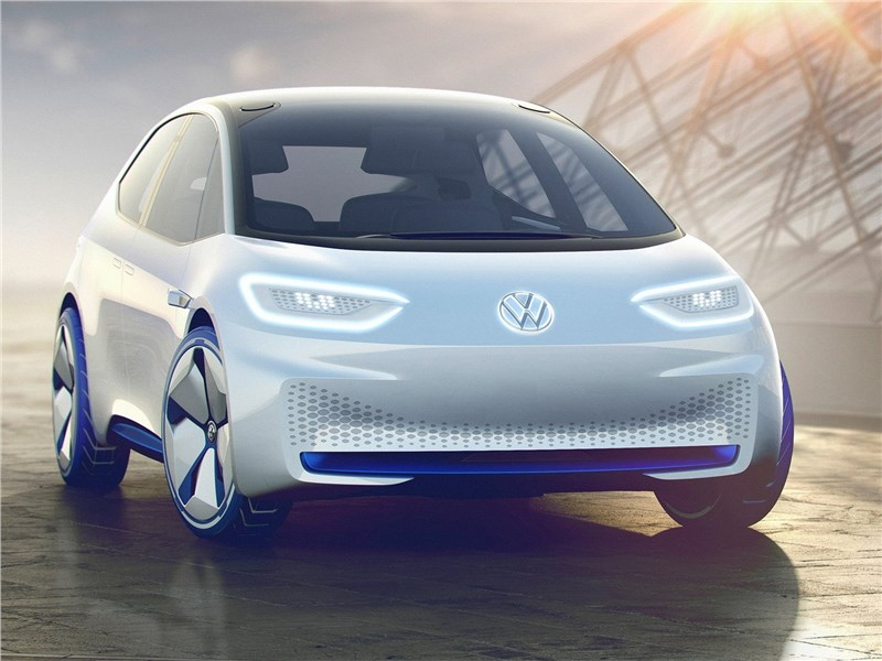 Volkswagen I.D. concept 2016 вид спереди