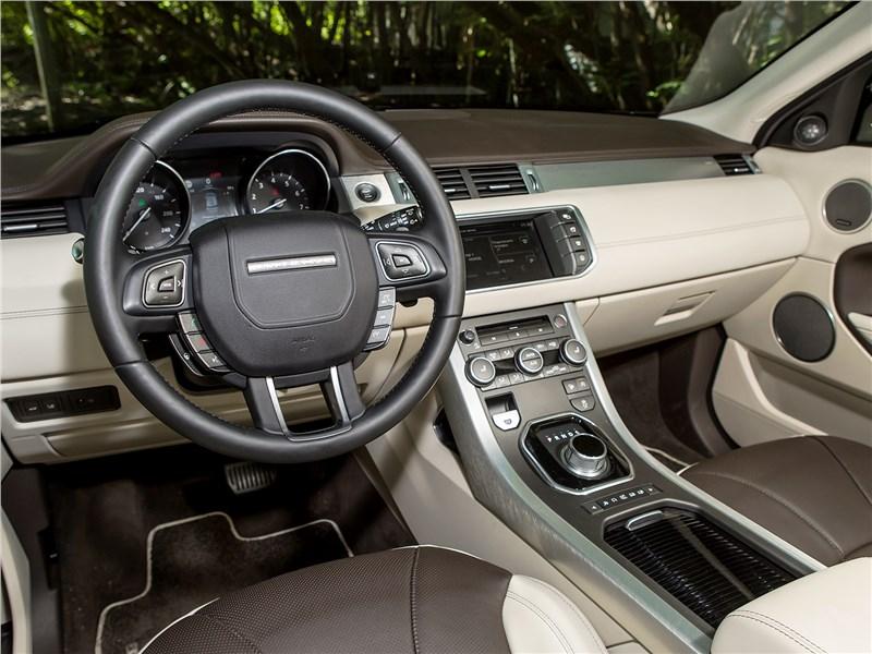 Land Rover Range Rover Evoque 2016 салон