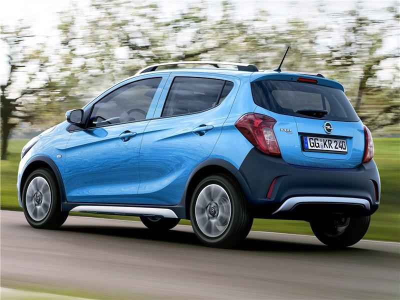 Opel Karl Rocks 2017 вид сзади
