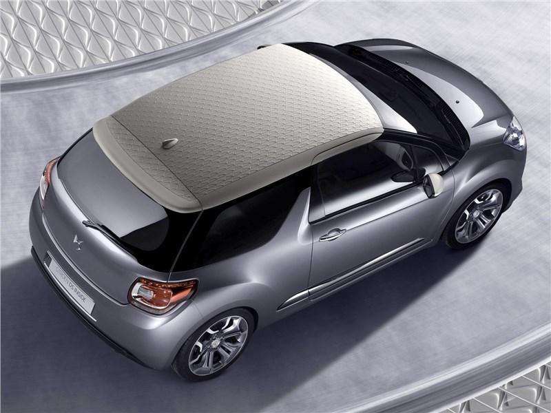 Citroen DS Inside concept 2009 вид сверху
