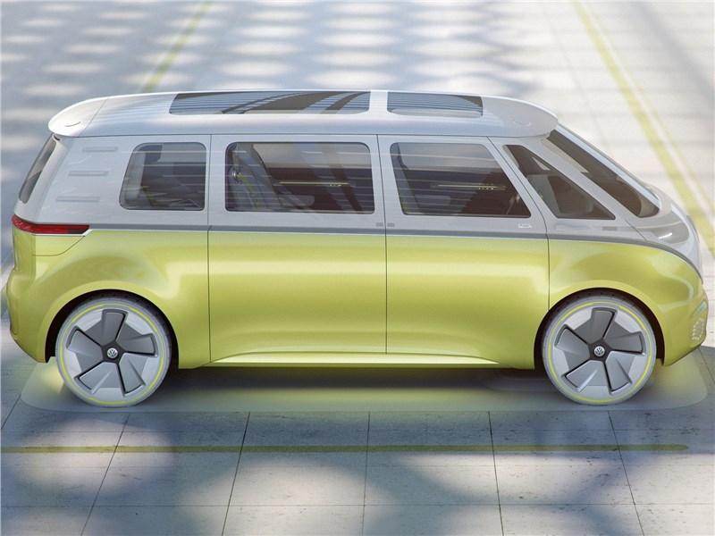 Volkswagen ID Buzz Concept 2017 вид сбоку