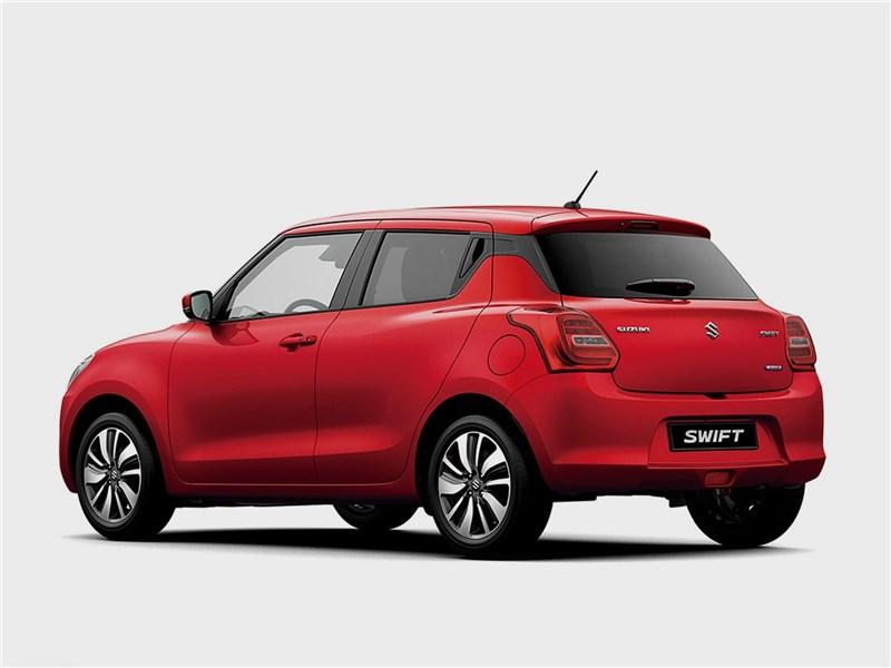 Suzuki Swift 2017 вид сзади