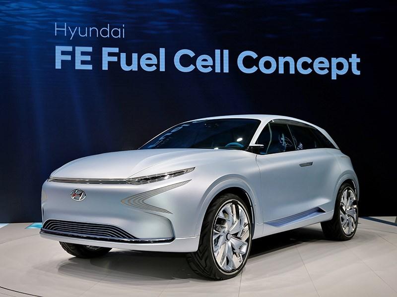 Водородный концепт и другие новинки от Hyundai