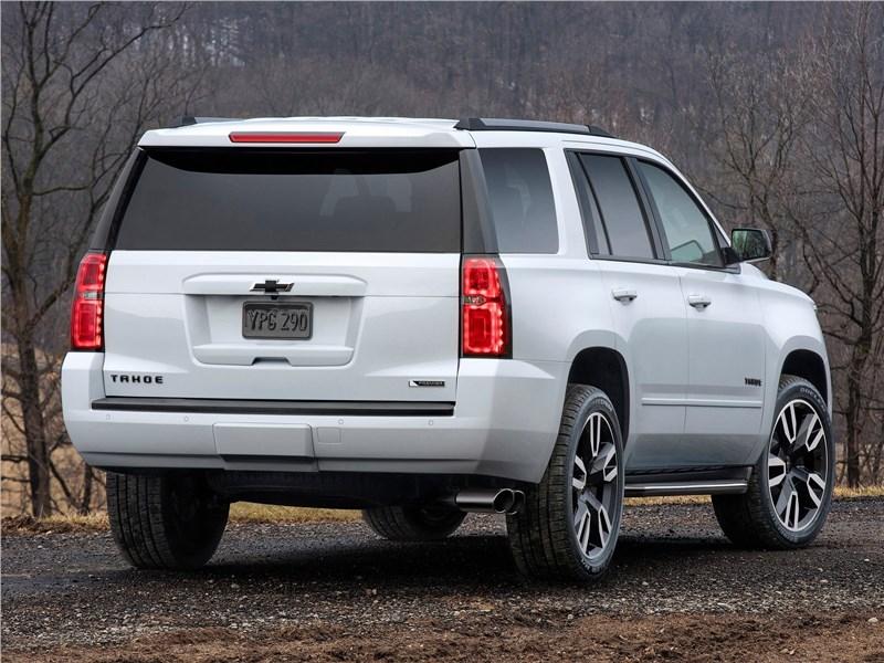 Chevrolet Tahoe RST 2018 вид сзади