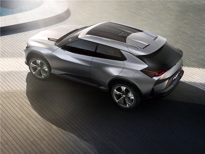 Chevrolet FNR-X Concept 2017 вид сверху