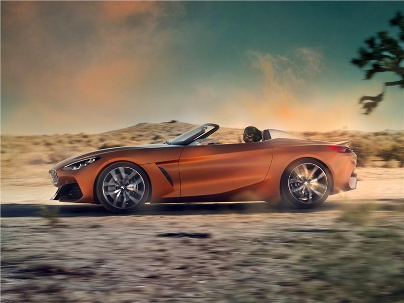 BMW Z4 Concept 2017 вид сбоку