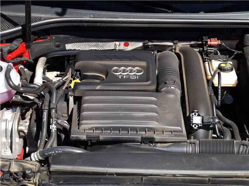 Audi A3 Sedan 2017 двигатель