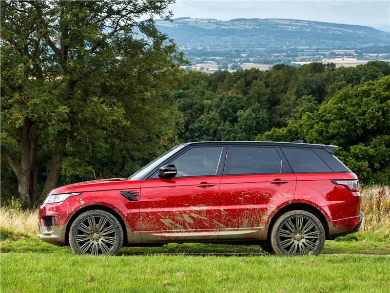 Land Rover Range Rover Sport 2017 вид сбоку