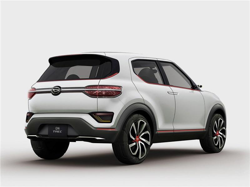 Daihatsu DN Trec Concept 2017 вид сзади