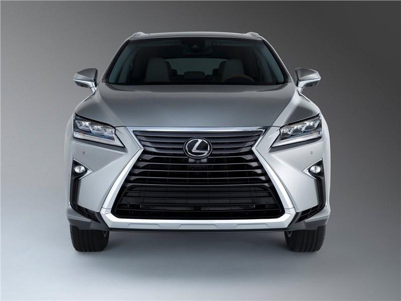 Lexus RX L 2018 вид спереди