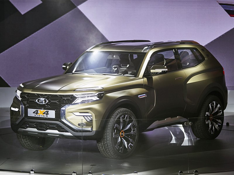 Дизайнерская новинка от АвтоВАЗ: свежая концепция Lada 4x4