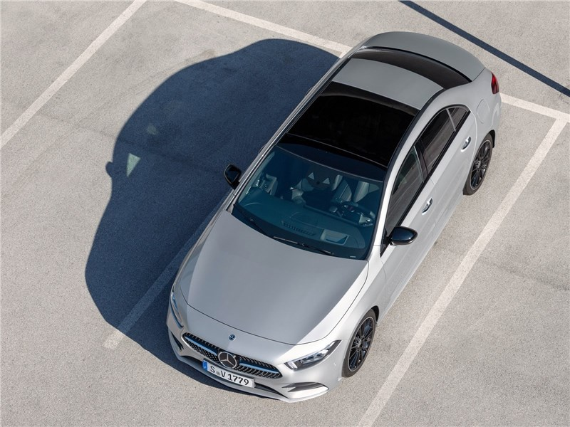 Mercedes-Benz A-Class 2019 вид сверху