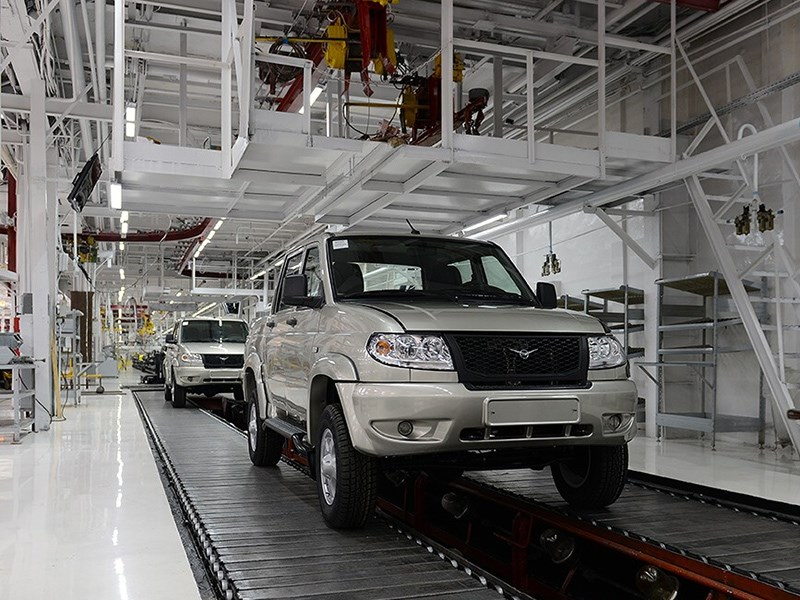 УАЗ усиливает контроль качества производства Фото Авто Коломна