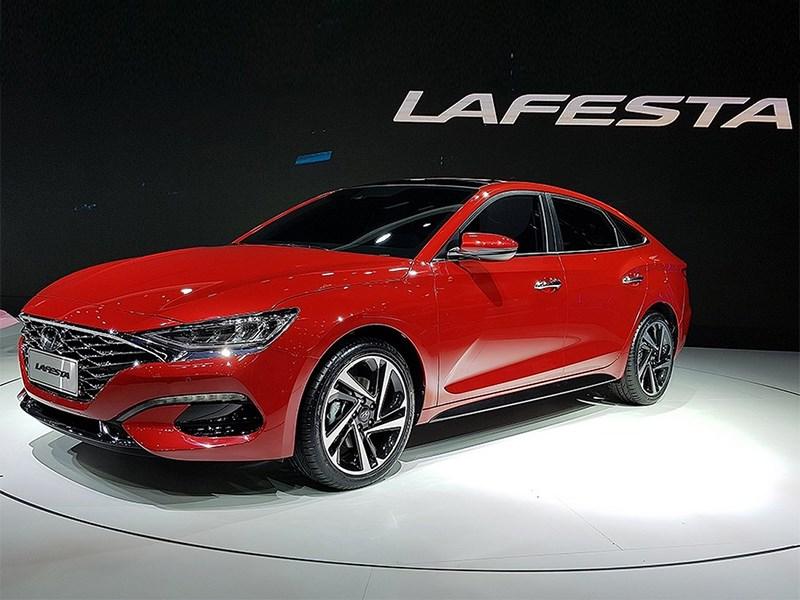 Hyundai начал конвейерную сборку Lafesta