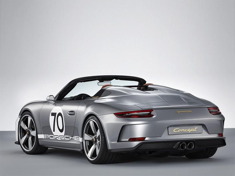 Porsche пустит в серию модель 911 Speedster