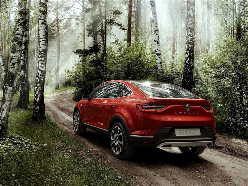 Renault Arkana Concept 2018 вид сзади