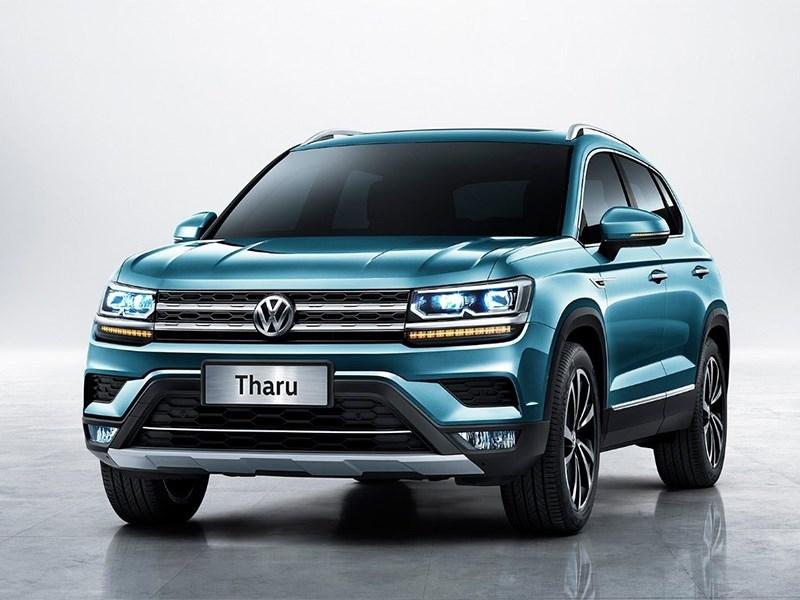 VW начинает продажи бюджетного кроссовера Tharu Фото Авто Коломна