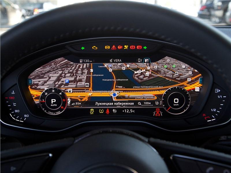 Audi A5 Sportback 2017 приборная панель