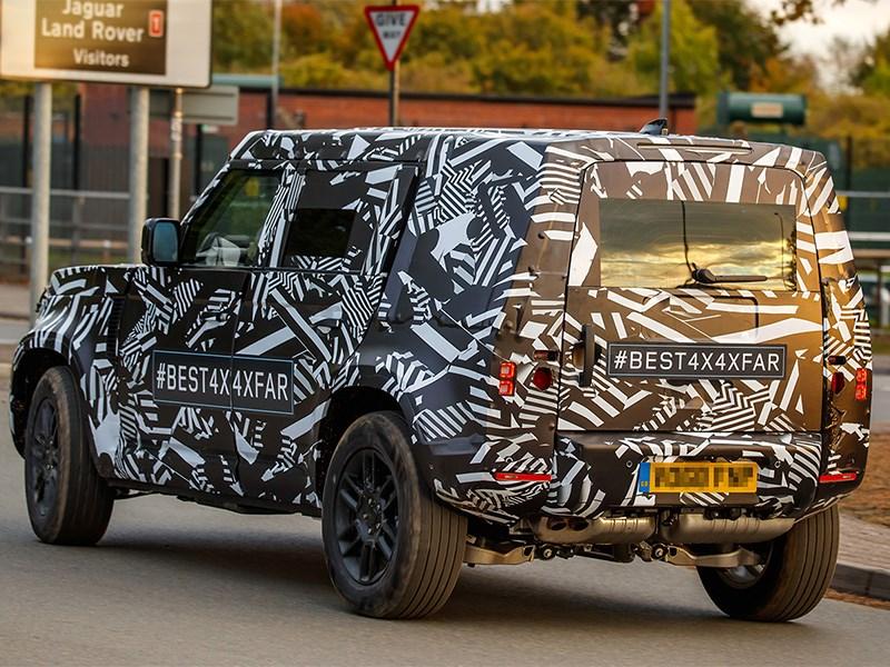 Гибридные Land Rover Defender и Range Rover Velar проходят дорожные тесты Фото Авто Коломна