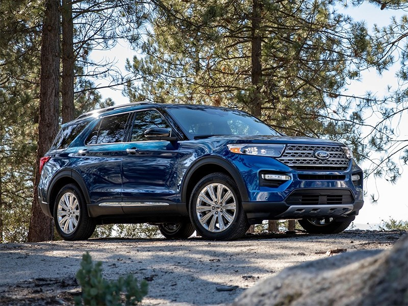 Официально представлен новый Ford Explorer