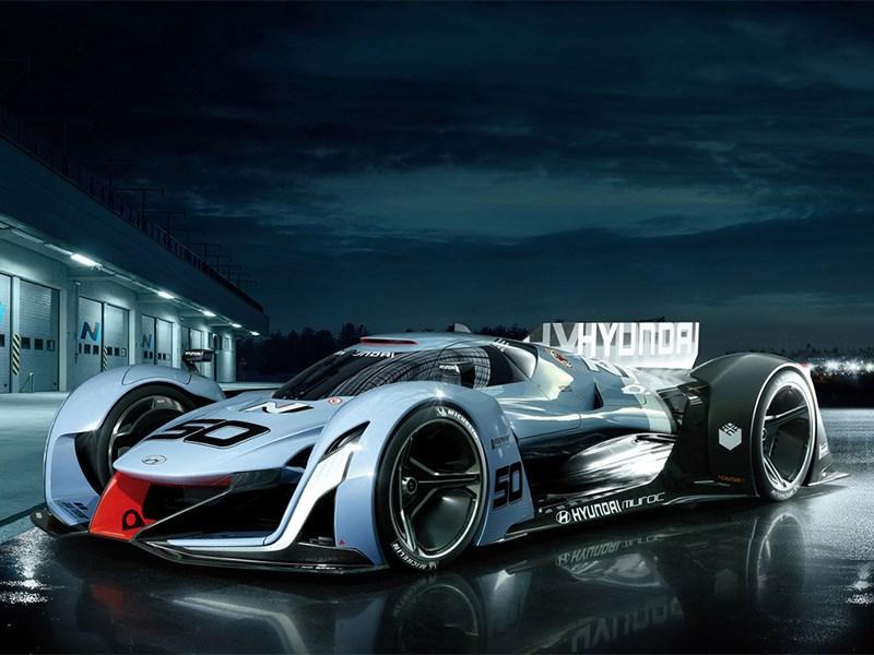 Hyundai покажет вДетройте водородный суперкар