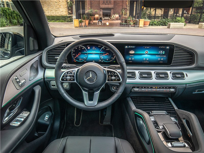 Mercedes-Benz GLE 2020 салон