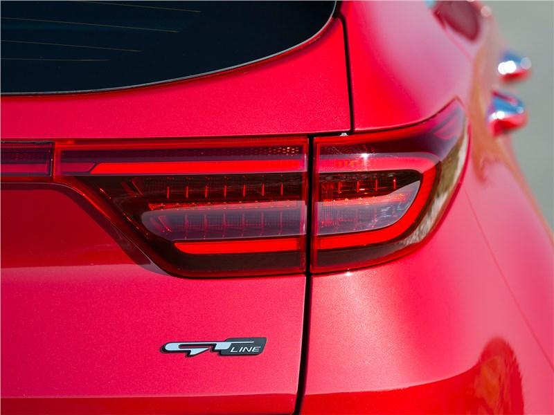 Kia Sportage GT Line 2019 задняя фара