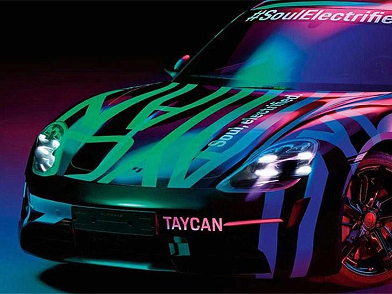 Porsche Taycan, представлен официальный тизер Фото Авто Коломна