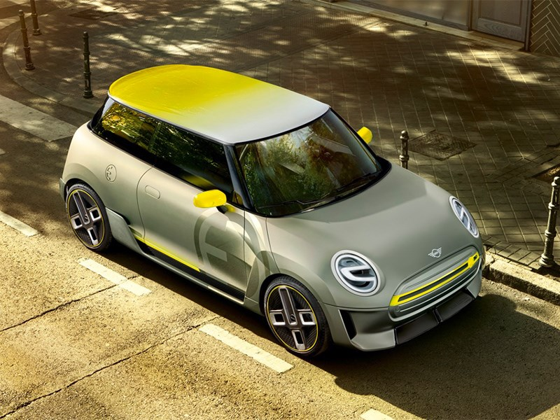 Первый электрический MINI получит начинку от BMW i3 Фото Авто Коломна
