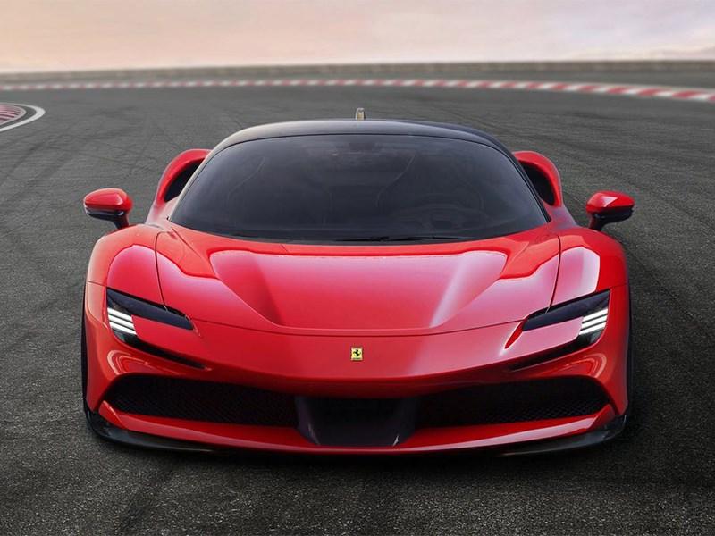 Ferrari представили свой подключаемый гибрид
