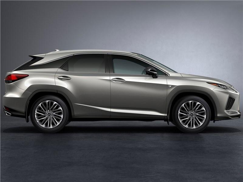 Lexus RX 2020 вид сбоку