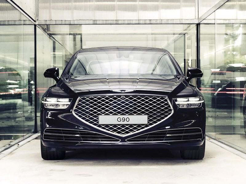 Представлен обновленный седан Genesis G90 Фото Авто Коломна
