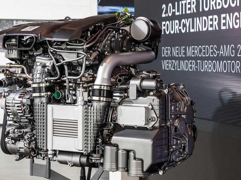 Mercedes AMG представил самый мощный в мире четырехцилиндровый мотор Фото Авто Коломна