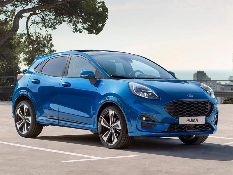 Ford представил новый компактный кроссовер Фото Авто Коломна