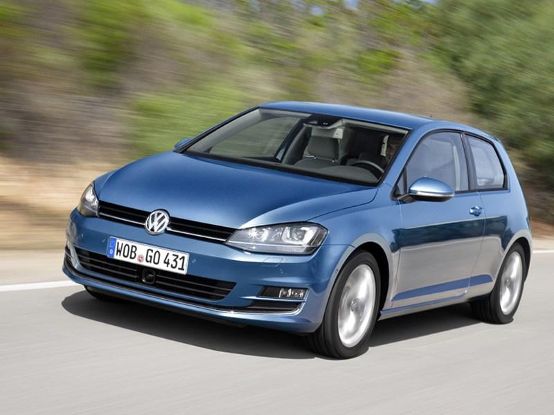 Volkswagen Golf нового поколения появился в России