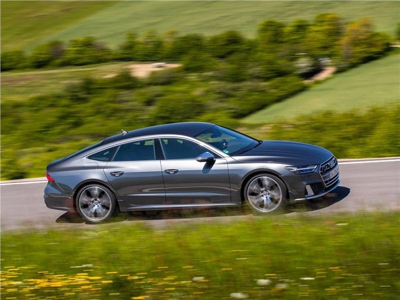 Audi S7 Sportback TDI 2020 вид сбоку