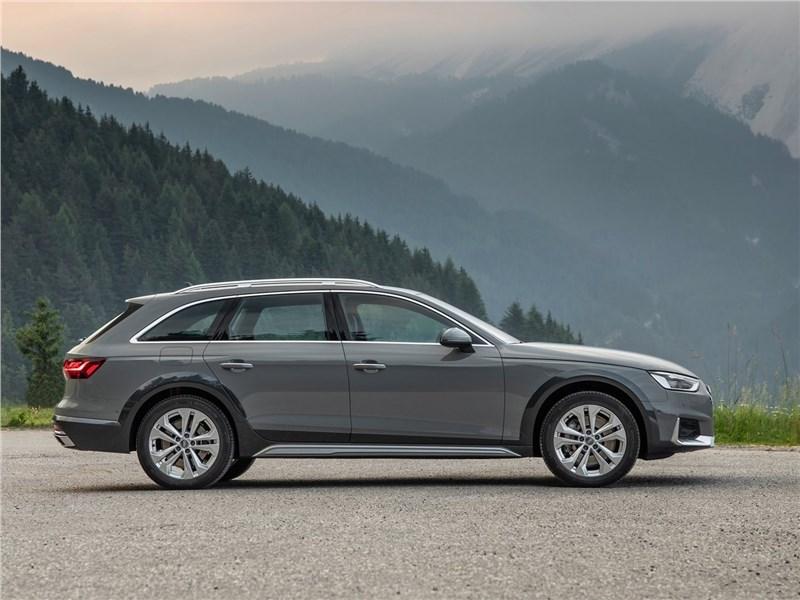 Audi A4 allroad quattro 2020 вид сбоку