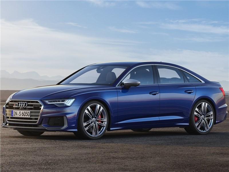 Audi S6 Sedan TDI 2020 вид сбоку