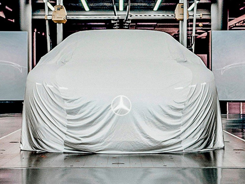Mercedes раскроет какую-то тайну