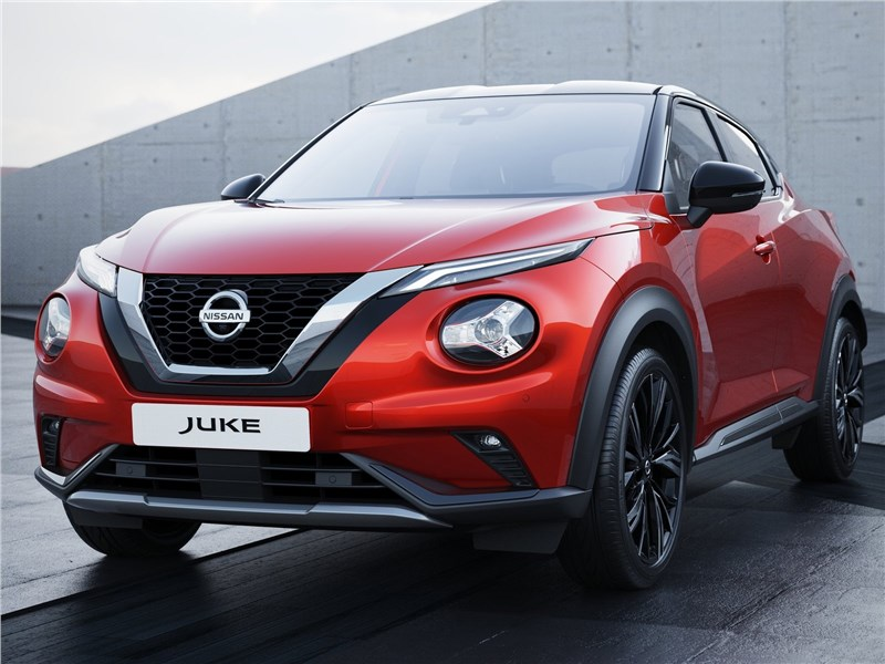 Nissan Juke 2020 вид спереди