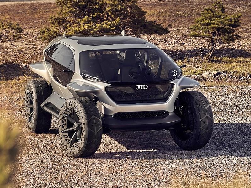 Audi разработала электрический внедорожник Фото Авто Коломна