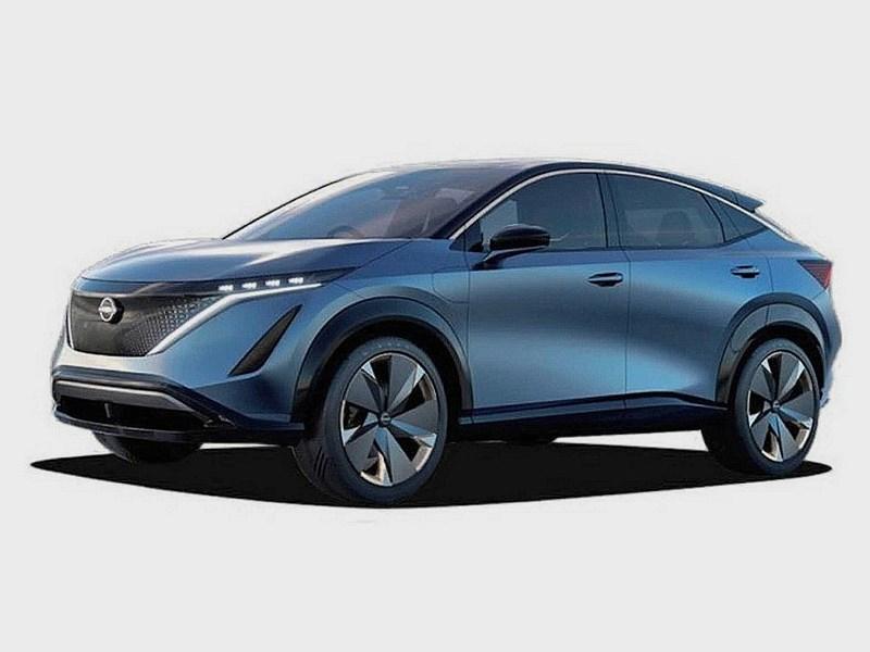 Первый электрокроссовер Nissan: покрова сорваны Фото Авто Коломна