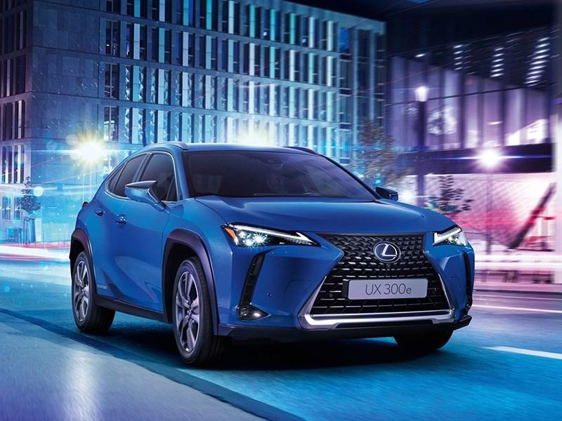 Lexus представил свой первый электромобиль Фото Авто Коломна