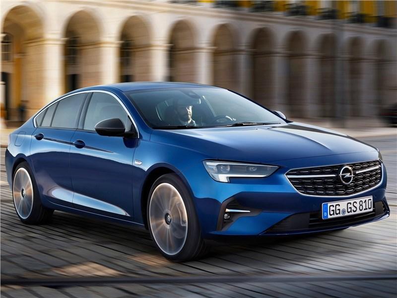 Opel Insignia 2020 вид спереди