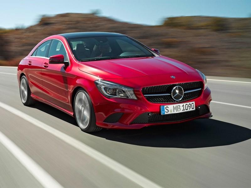 Новое компактное четырехдверное купе от Mercedes-Benz
