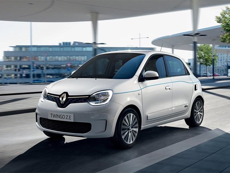 Представлен новый городской электрокар Renault