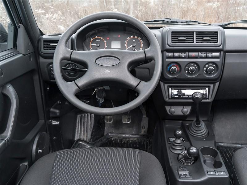 Lada 4x4 2019 салон