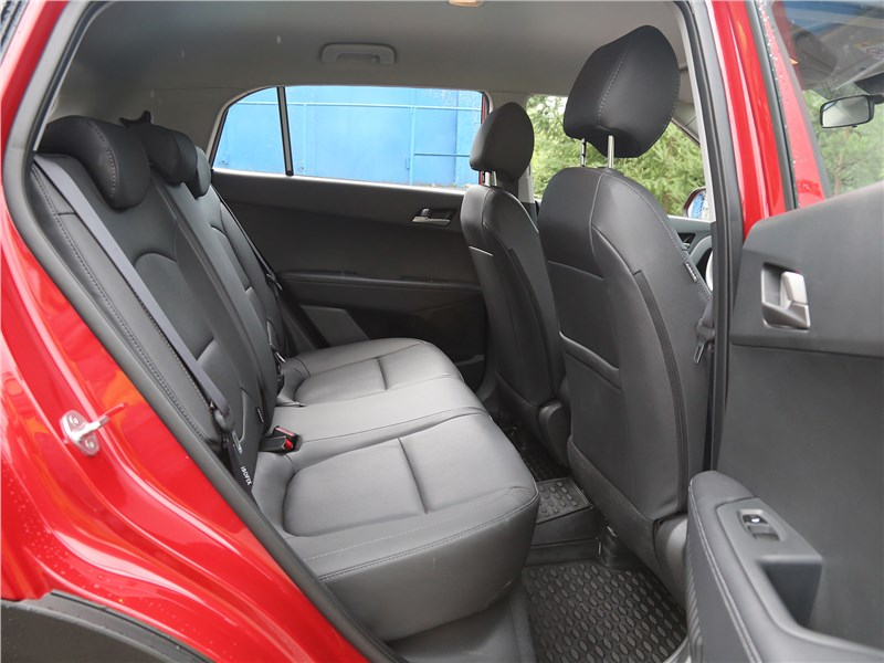 Hyundai Creta 2020 задний диван