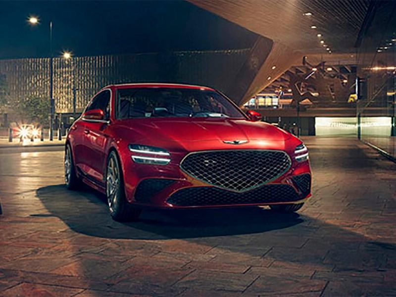 Genesis раскрыл технические характеристики обновленного седана G70
