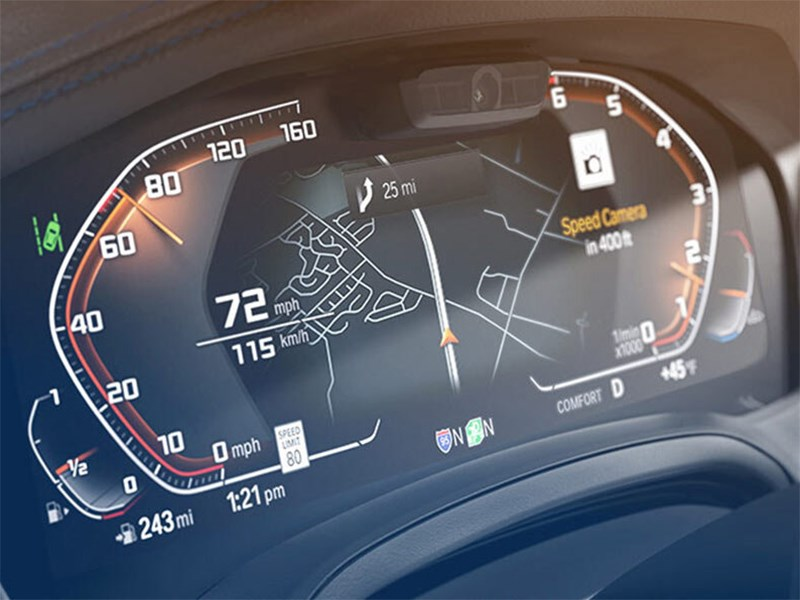 Автомобили BMW начали предупреждать владельцев о камерах на дорогах